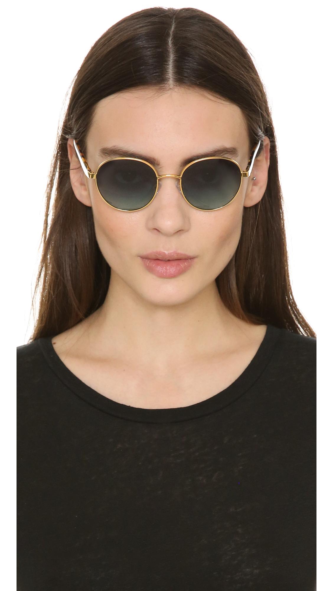 884194ed1f33 Michael Kors Sadie Iii Sunglasses - Gold/teal Gradient in Metallic ...