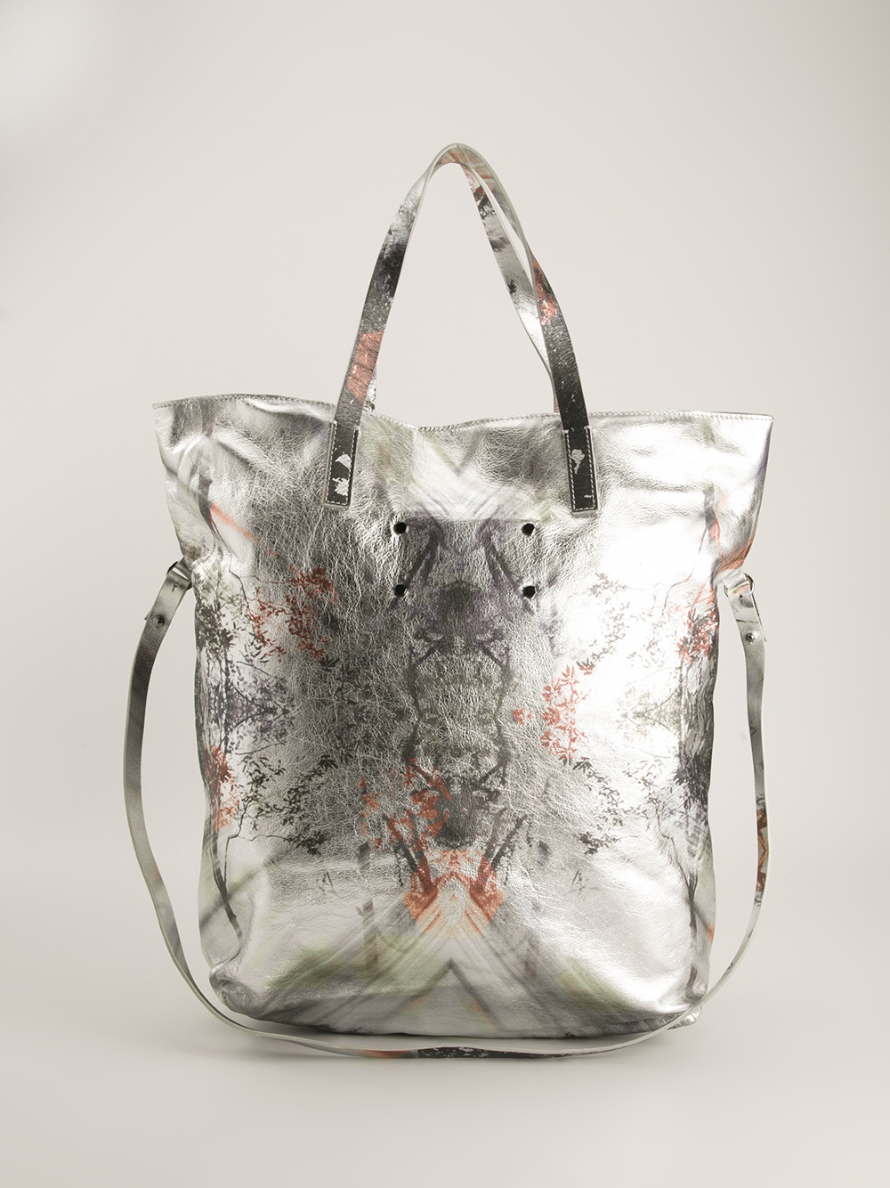 A Brand Apart Kaleidoscope Shopper Tote in Metallic