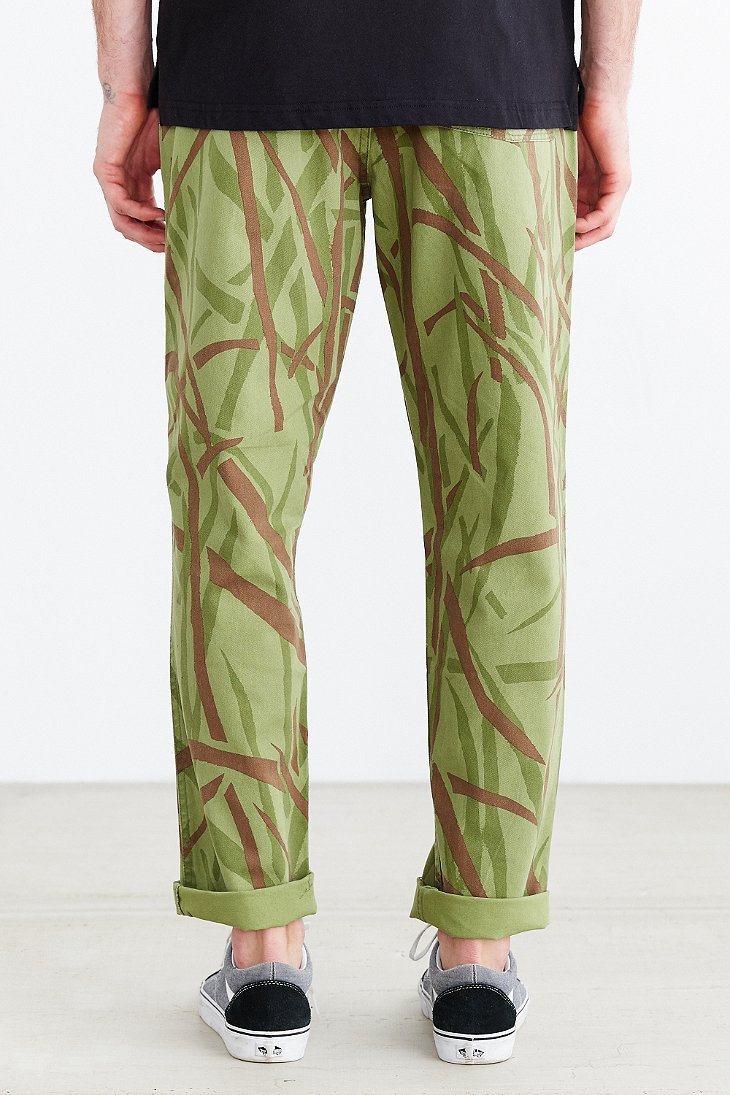 13ed2d4438 Stussy Pull-on Beach Pant in Green for Men - Lyst