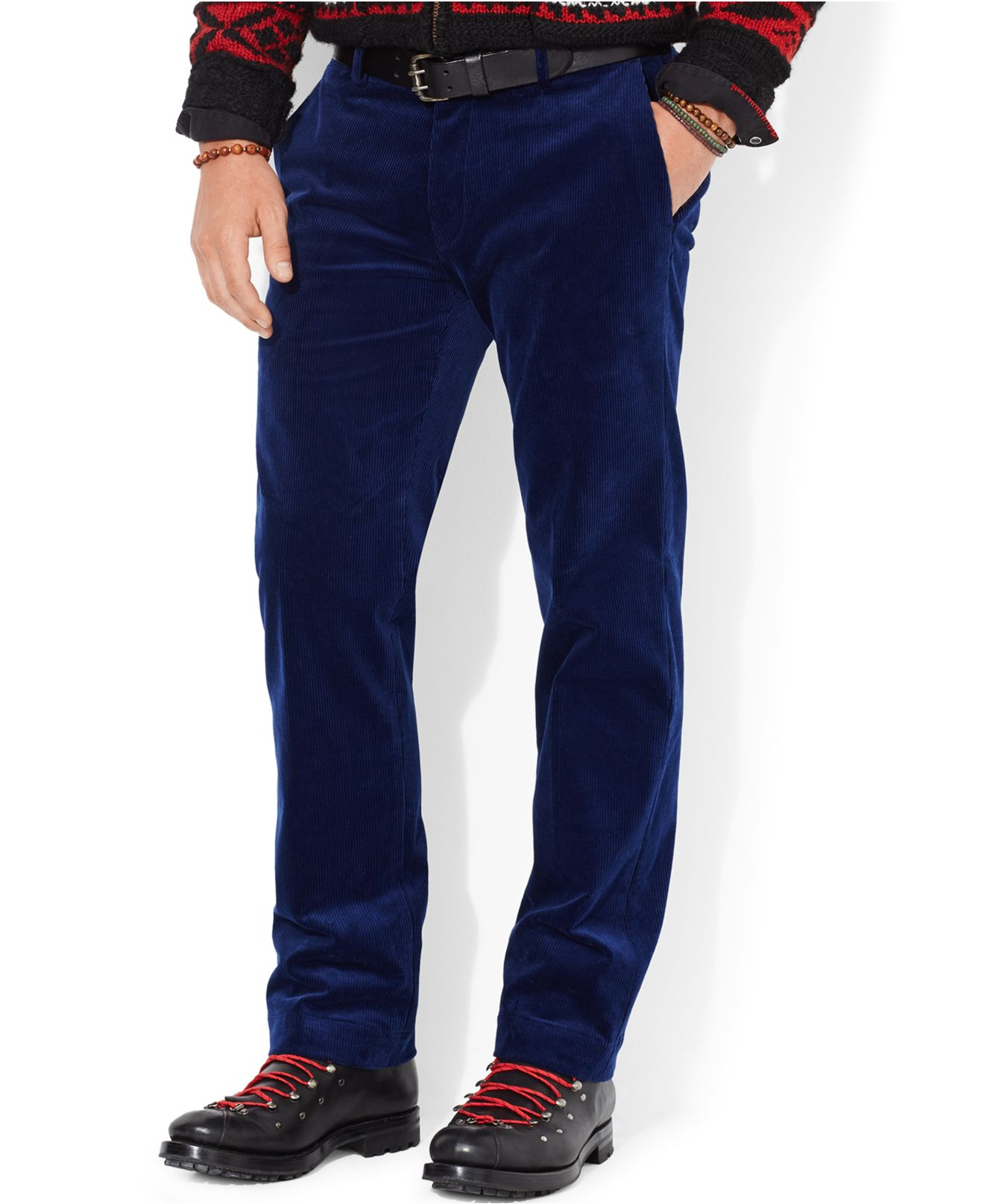 Polo ralph lauren Classic-Fit Newport Corduroy Pants in Blue for ...