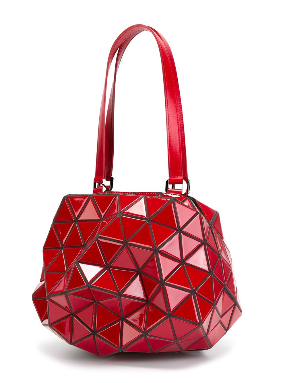Lyst Bao Bao Issey Miyake Planet Shoulder Bag In Red