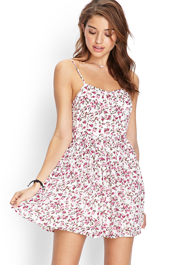 Forever 21 Floral Cami Dress You've Been Added To The ...