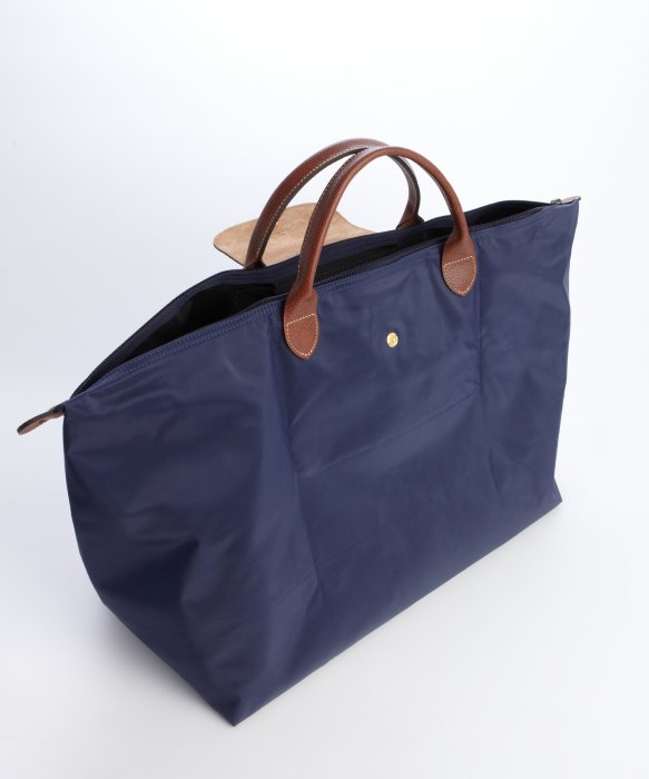 Le Pliage Large Travel Bag In Navy