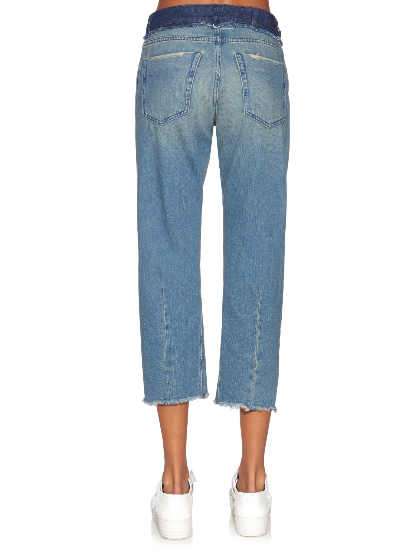 Mm6 by maison martin margiela high rise straight leg jeans for 10 moulmein rise la maison