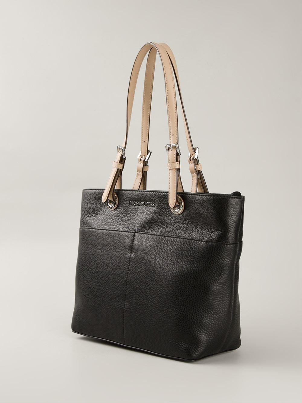 901ab7ac5fa5 MICHAEL Michael Kors 'bedford' Tote Bag in Black - Lyst