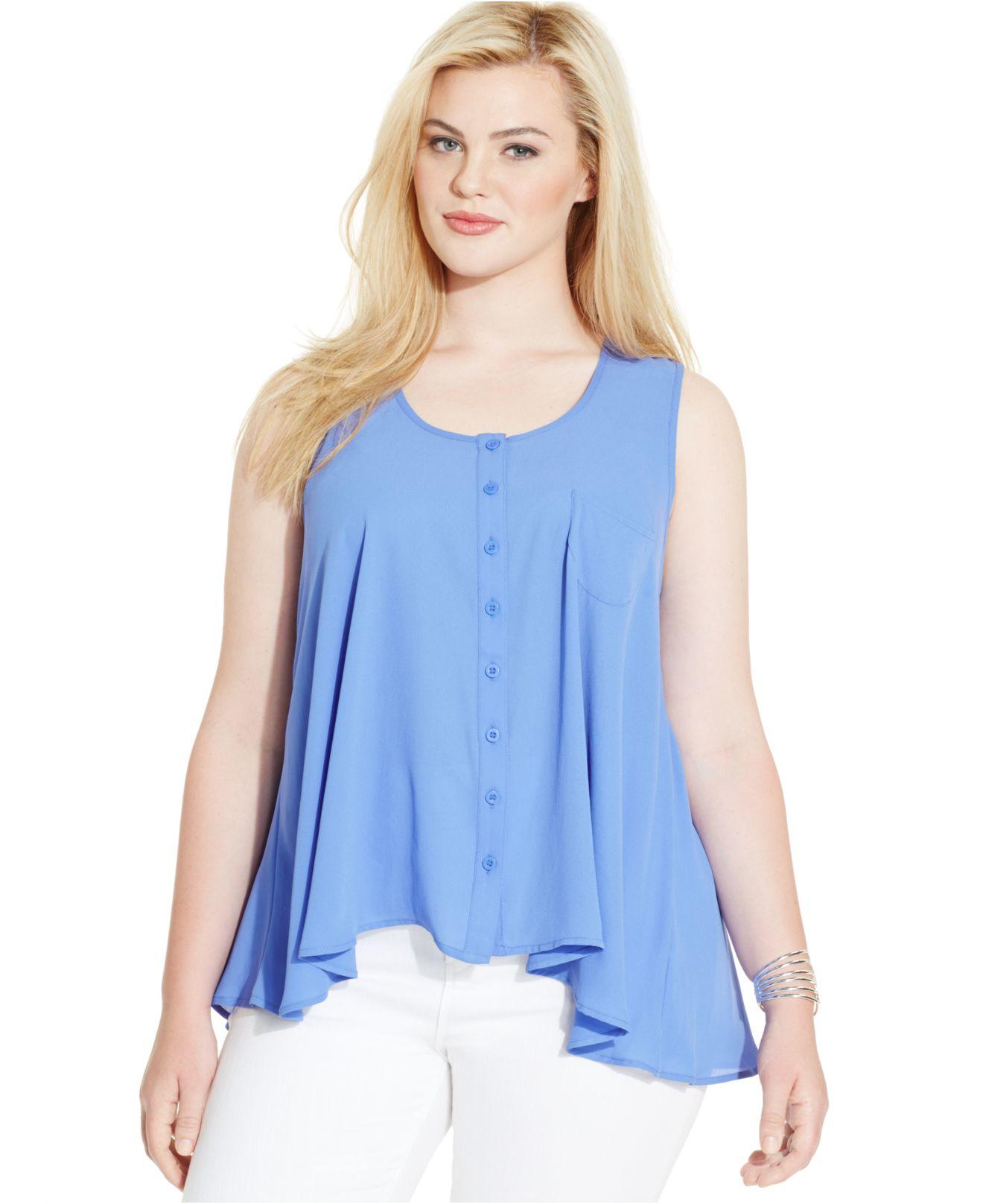 Style&Co Plus Size Blouse 121