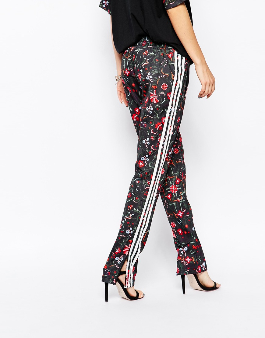 adidas floral pants
