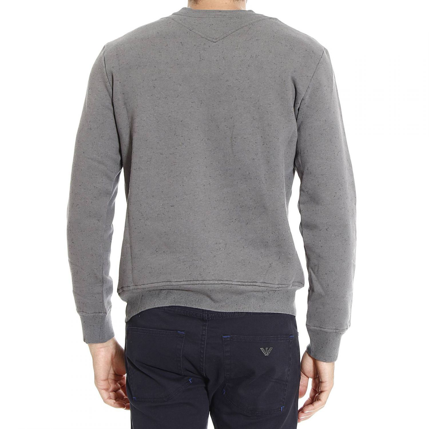 just cavalli sweater in gray for men lyst. Black Bedroom Furniture Sets. Home Design Ideas