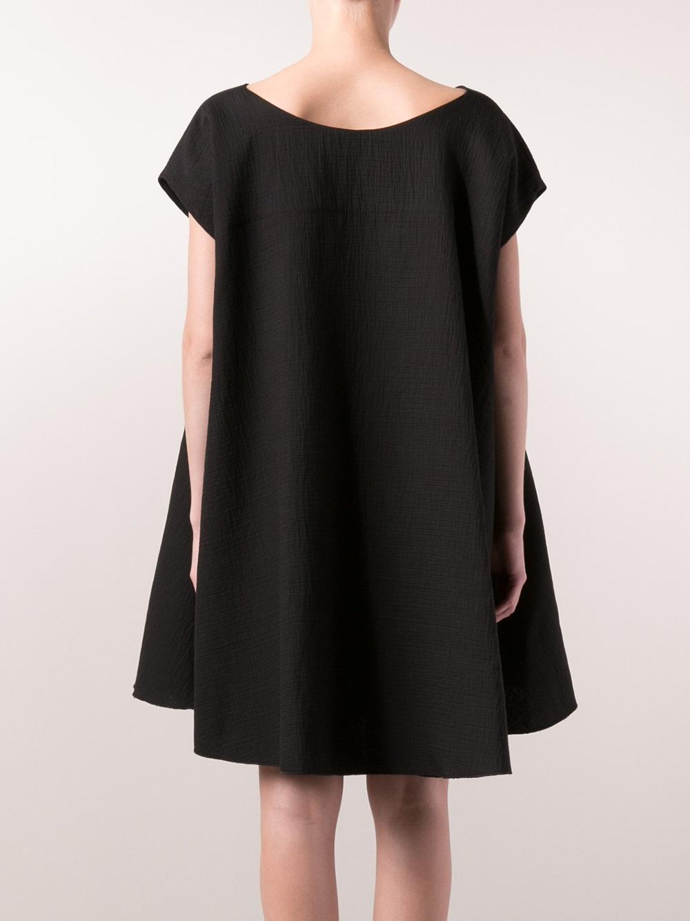 Hache black dress
