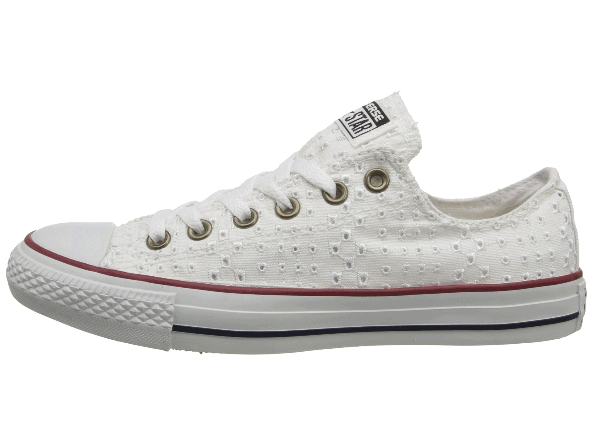 Converse Chuck Taylor All Star Eyelet Cutout Ox in White - Lyst