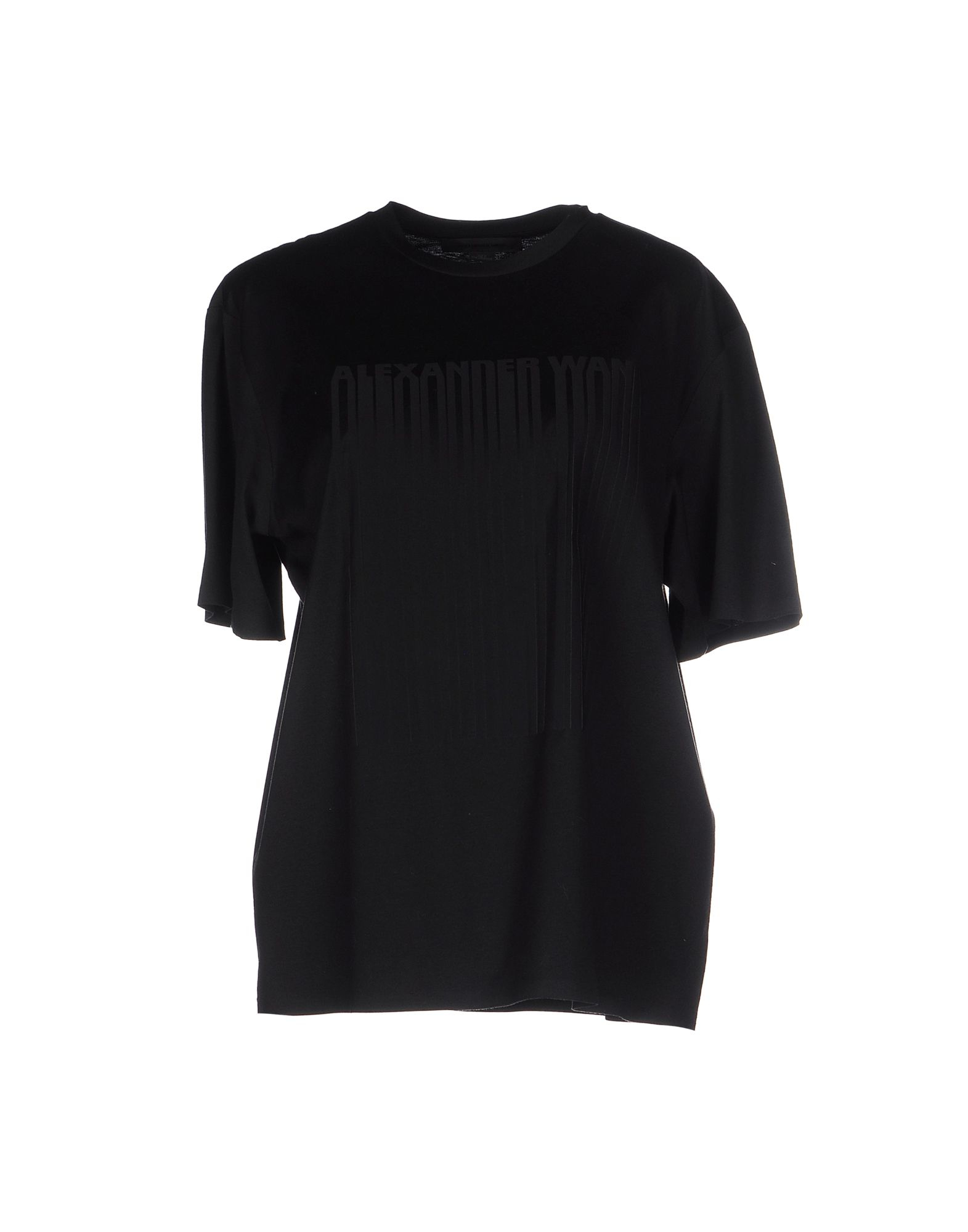 alexander wang t shirt in black lyst. Black Bedroom Furniture Sets. Home Design Ideas