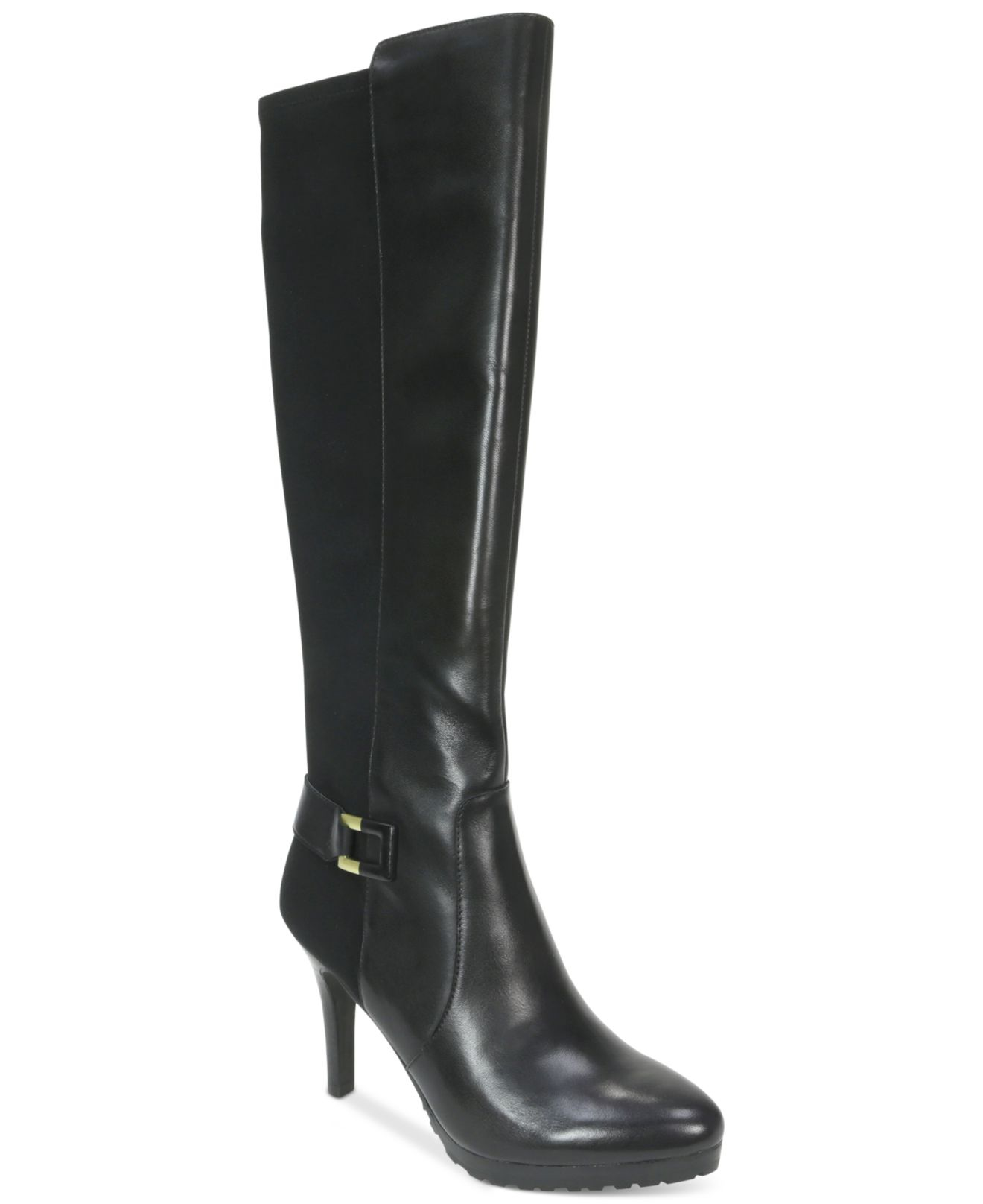 tahari greyson boots in black lyst