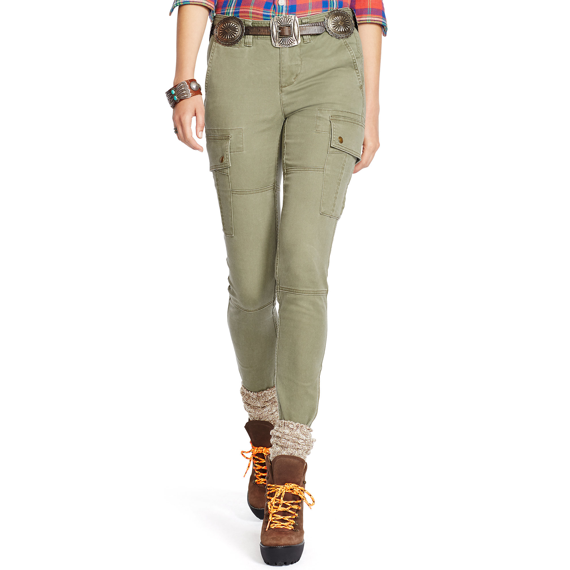 Awesome Polo Ralph Lauren Drapey Cargo Pant In Green Spring Loden  Lyst