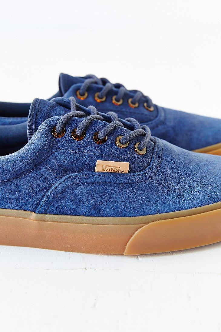 Lyst - Vans Era 59 California Suede Gum-Sole Men S Sneaker in Blue ... 2fbcee2699