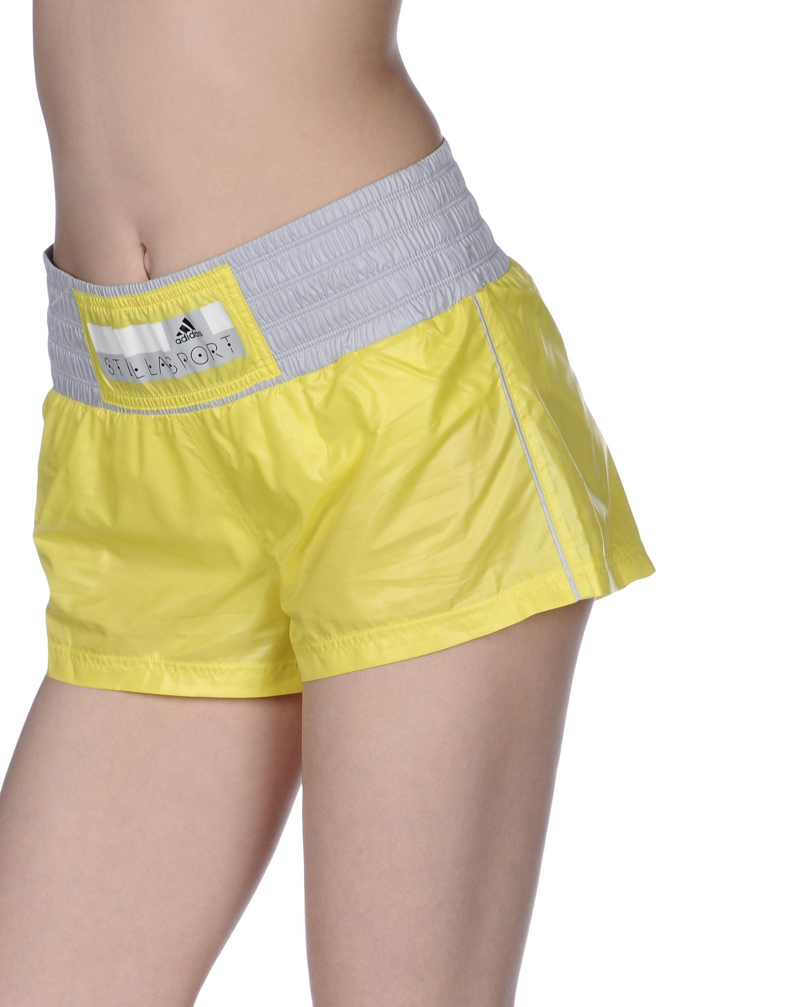 adidas shorts yellow