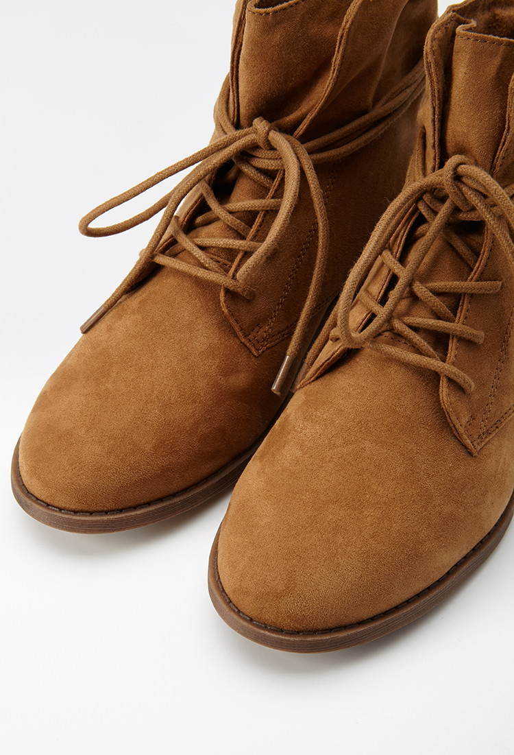 Shop brown suede ankle boot at Neiman Marcus, where you will find free shipping on the latest in fashion from top designers.