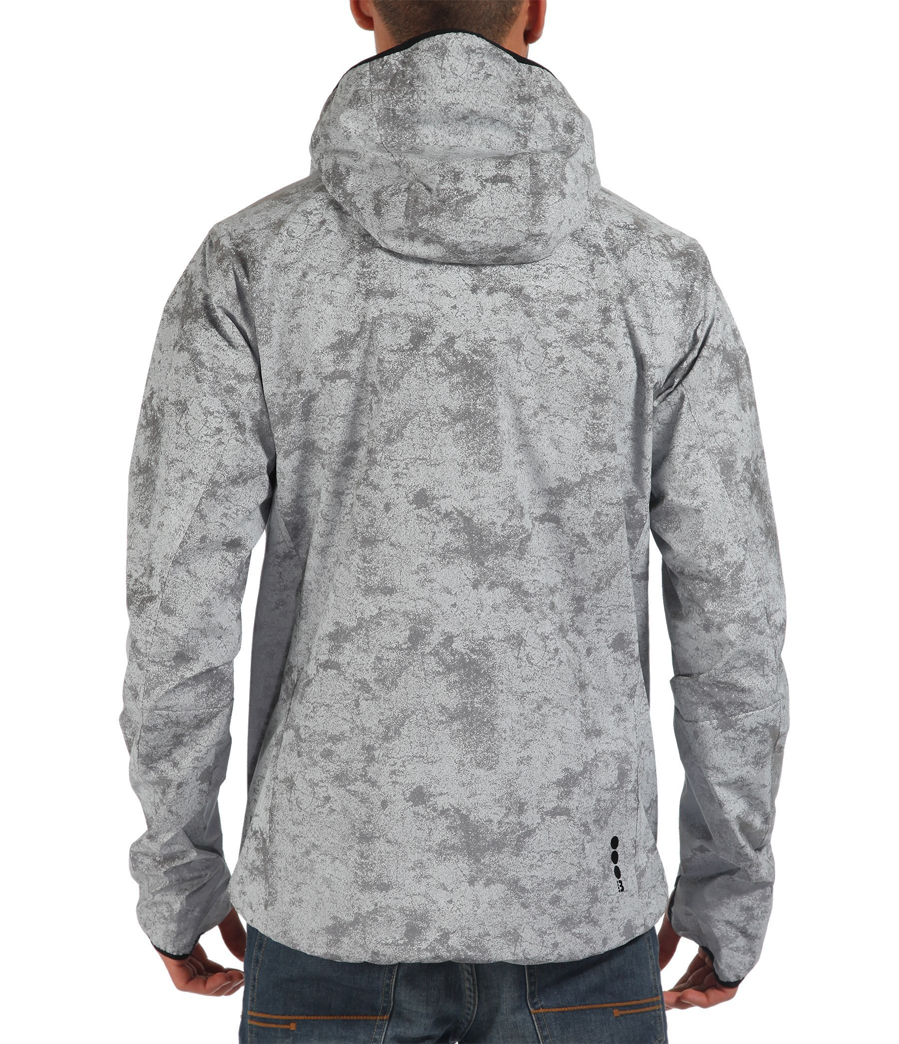 Bench Reflective In The Dark Hooded Jacket in Silver (Grey) for Men