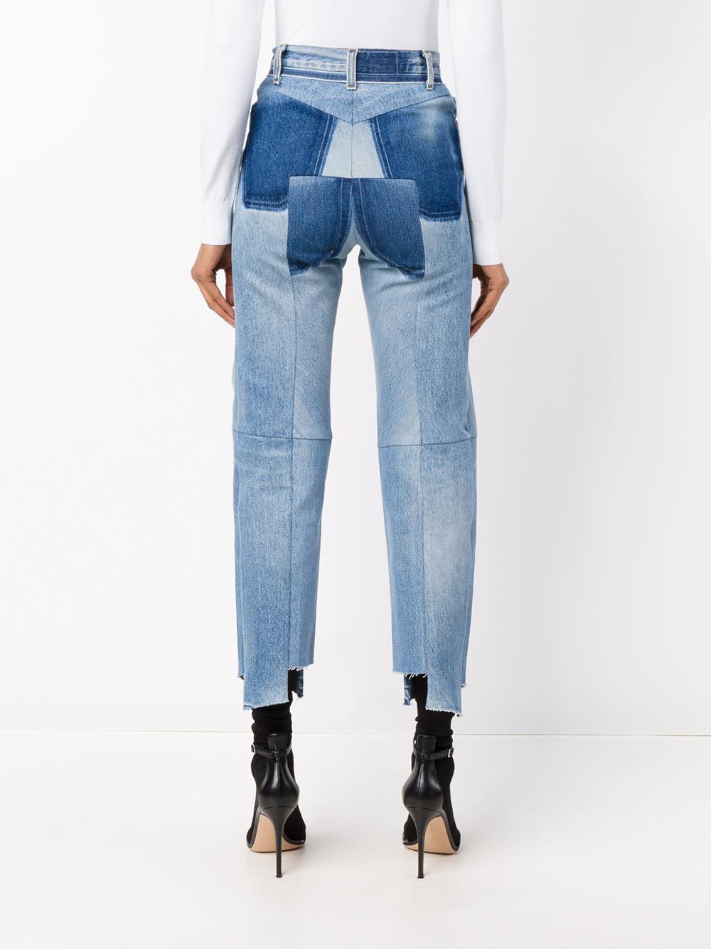 Re-Worked Straight Leg Denim Jeans VETEMENTS Cheap Excellent VKQqxTMUS