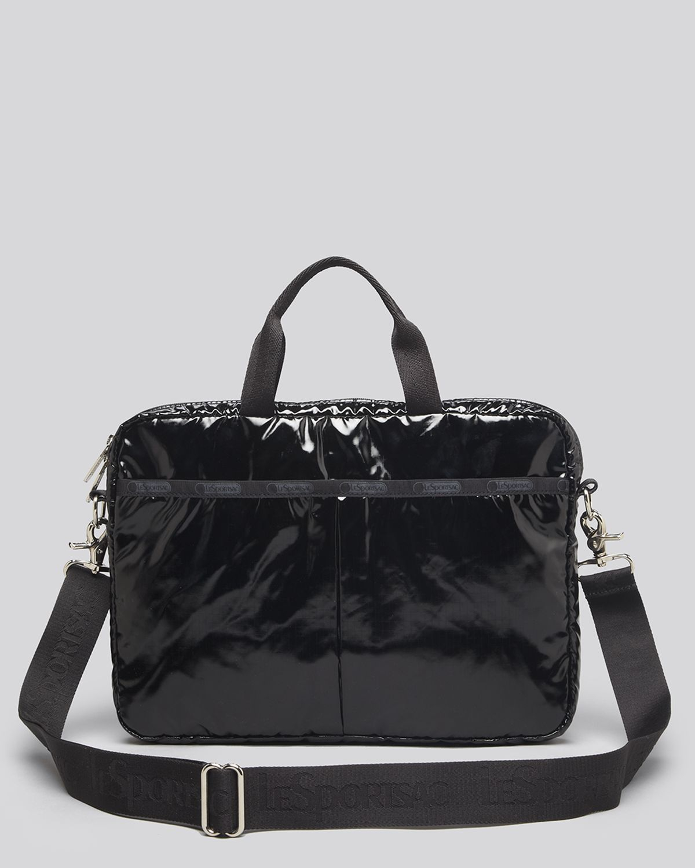 lesportsac computer 13 laptop bag in black lyst