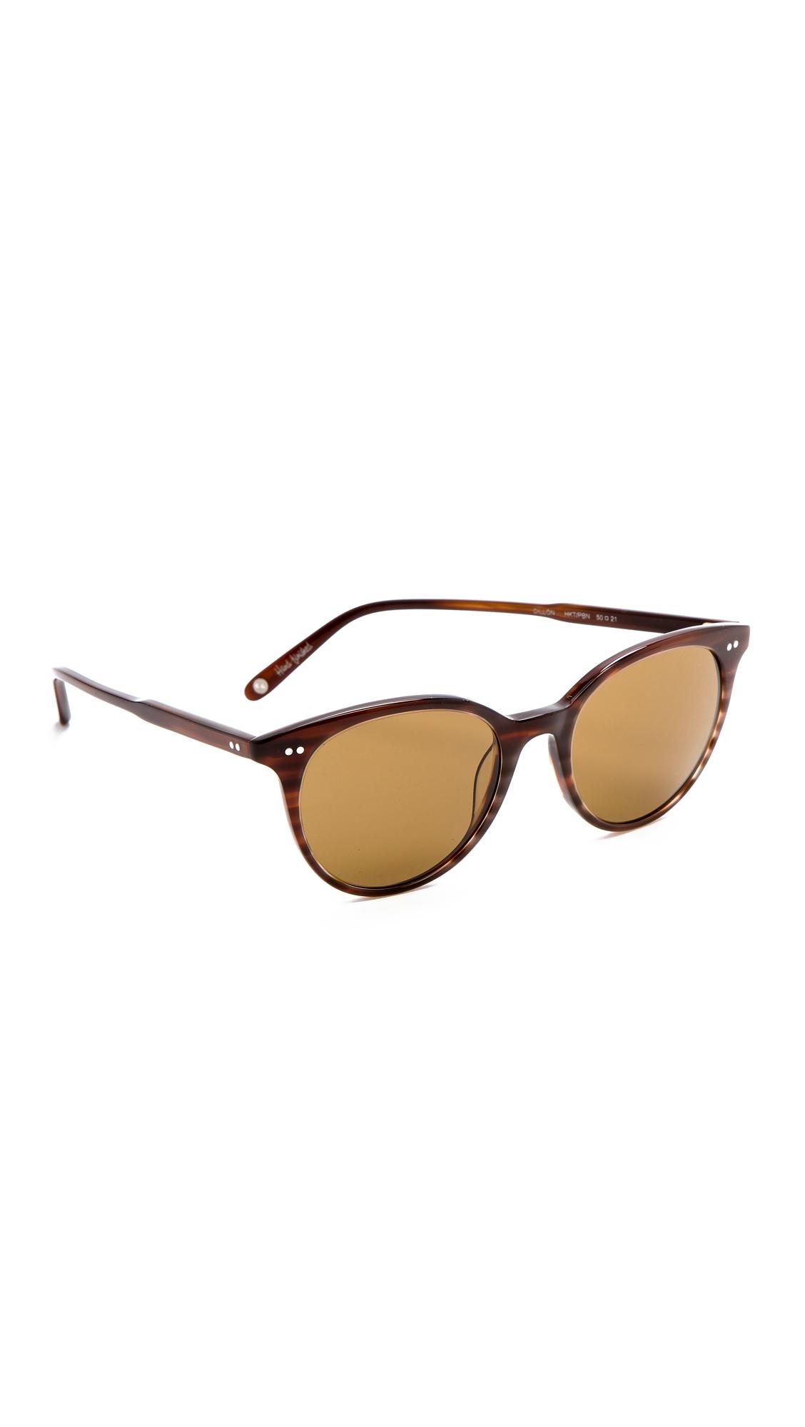 Garrett Leight Dillion Sunglasses in Brown