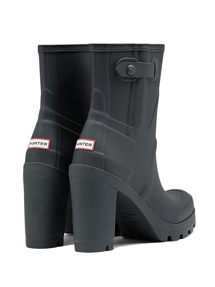 High Heeled Rain Boots