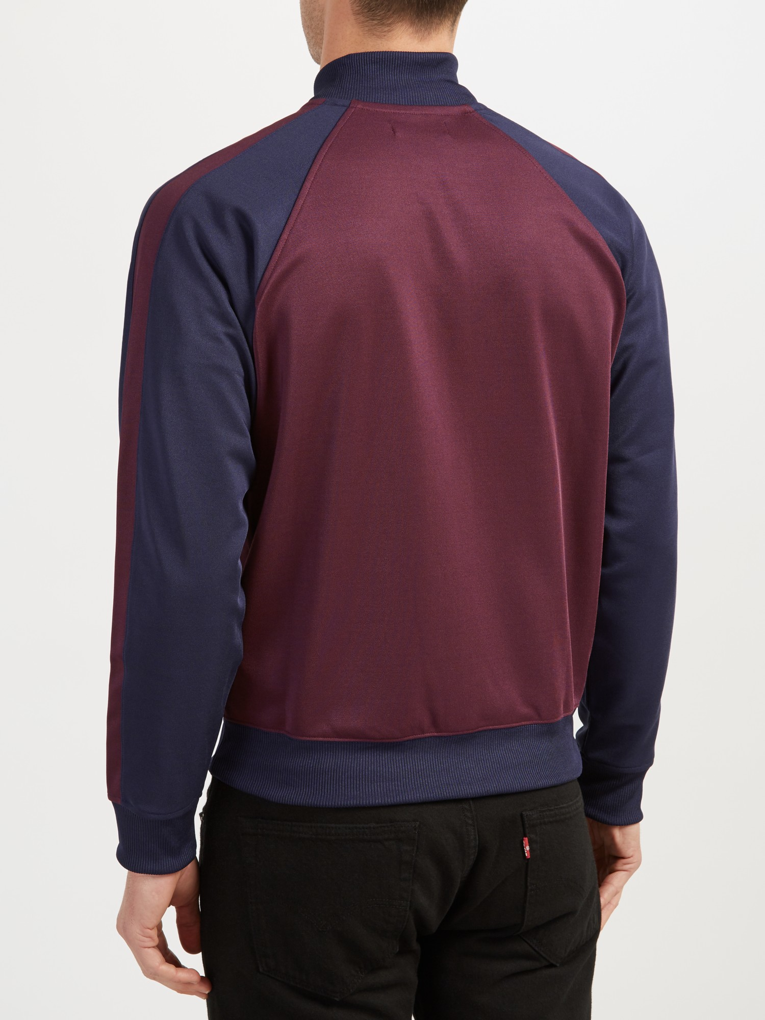 e6a2d9ed9 Fred Perry Sports Authentic Bomber Track Jacket in Brown for Men - Lyst