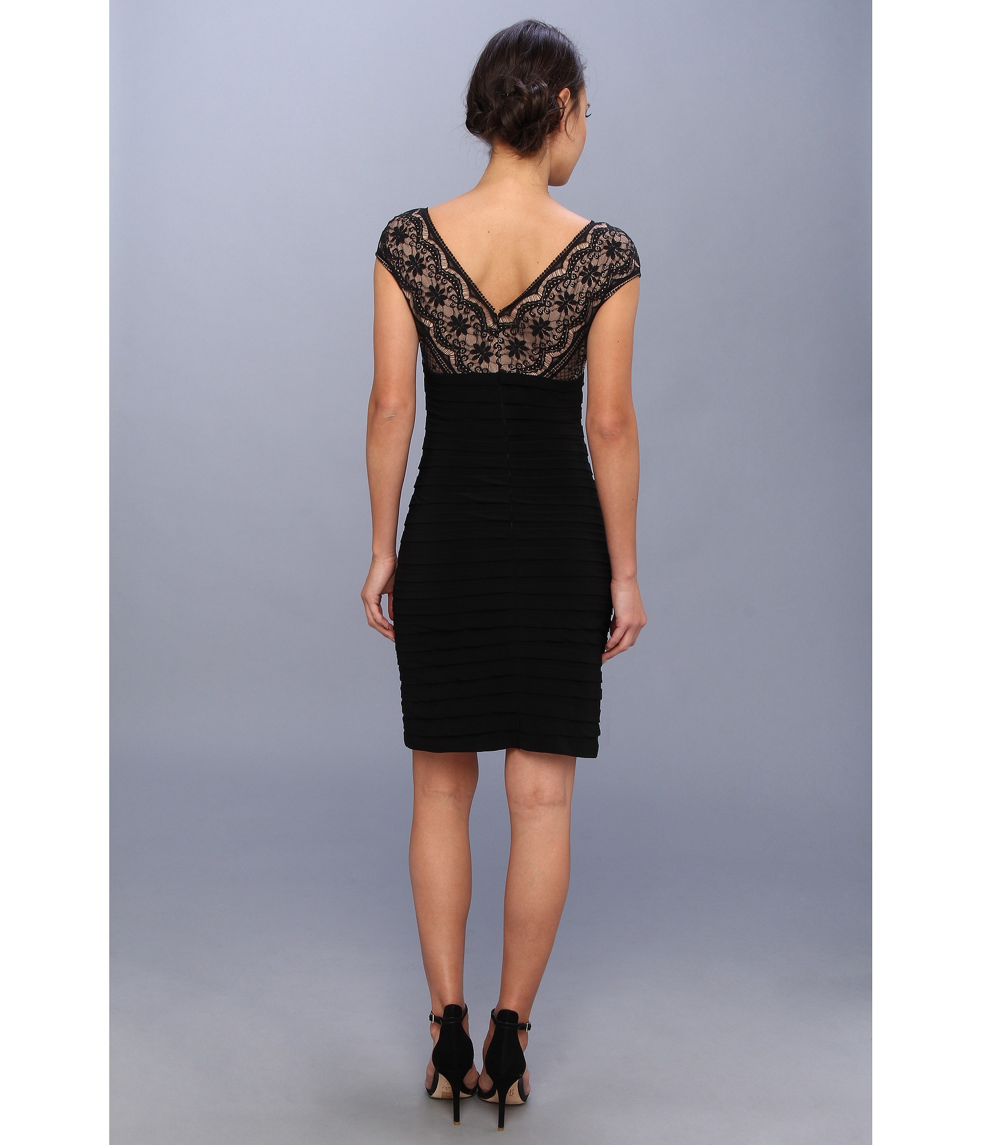 Lace Banded Dress