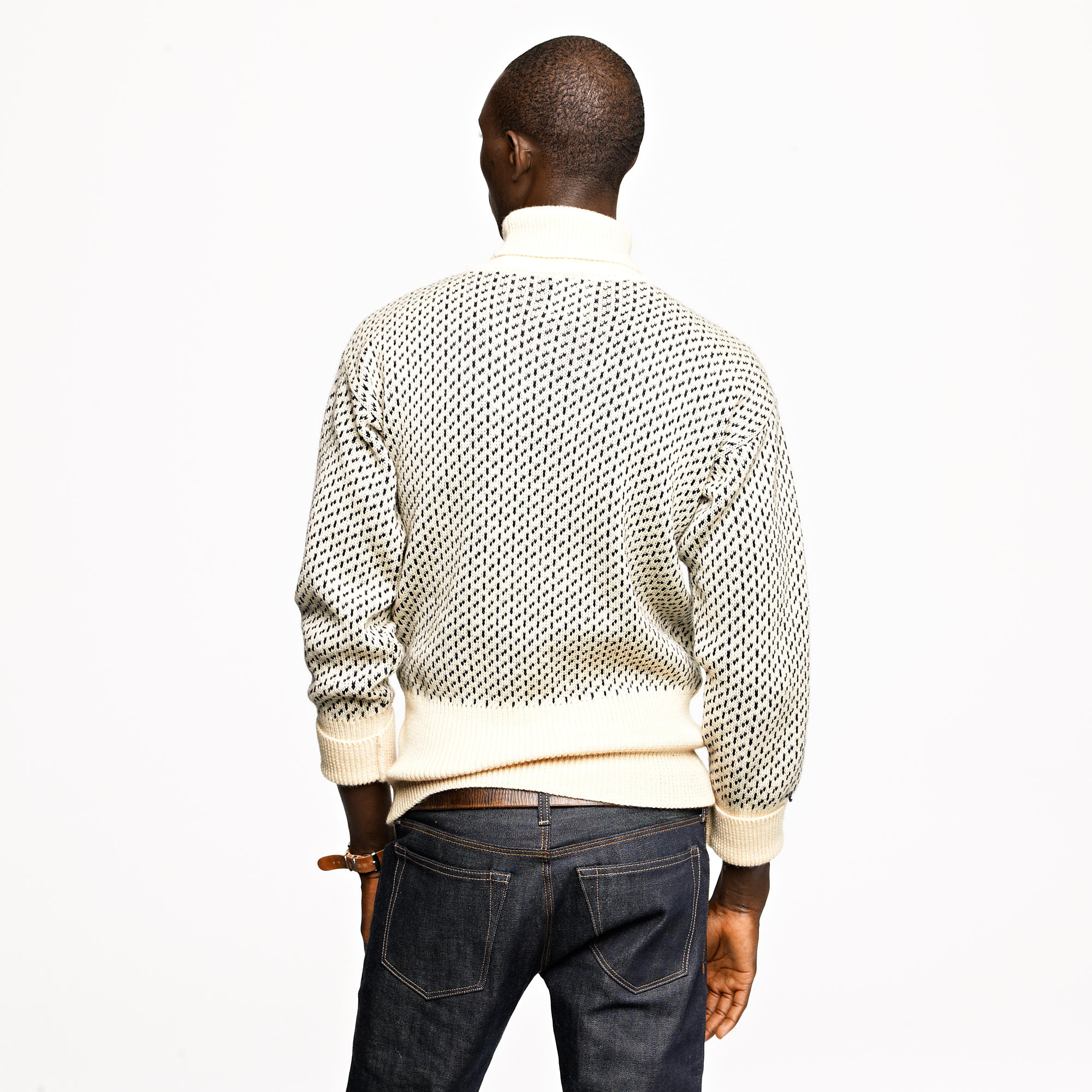 10952fc22db J.Crew Natural North Sea Submariner Sweater for men