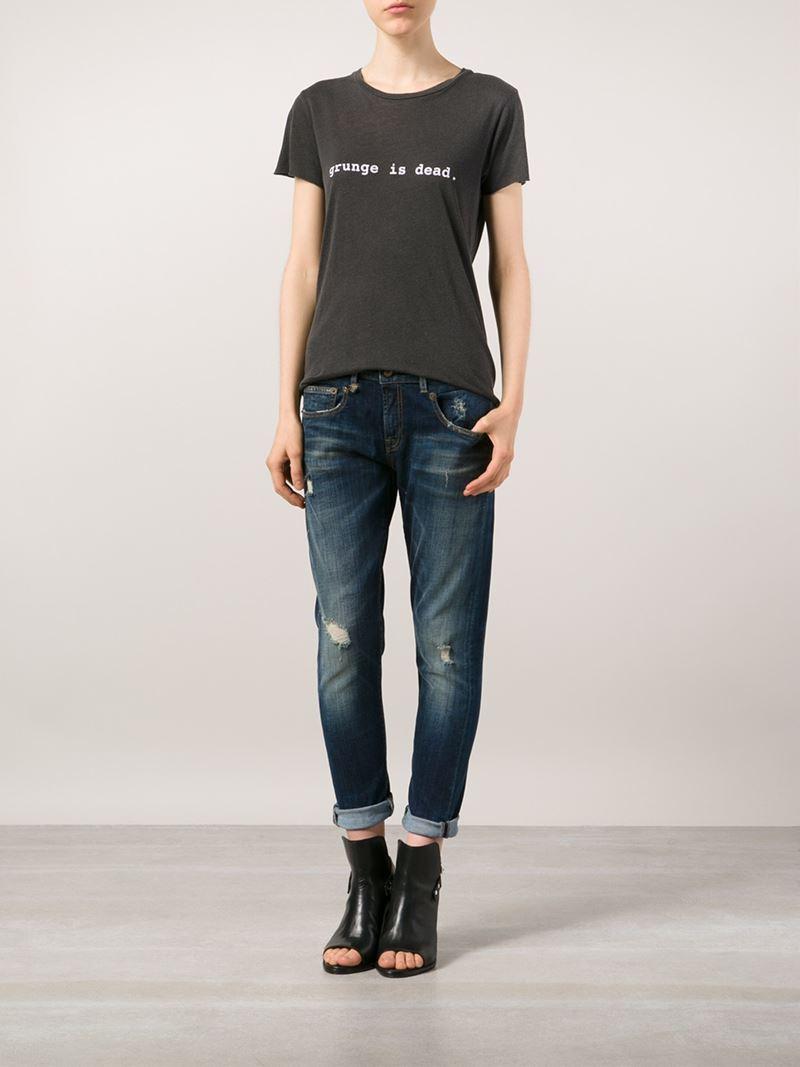 Black t shirt grunge - Gallery