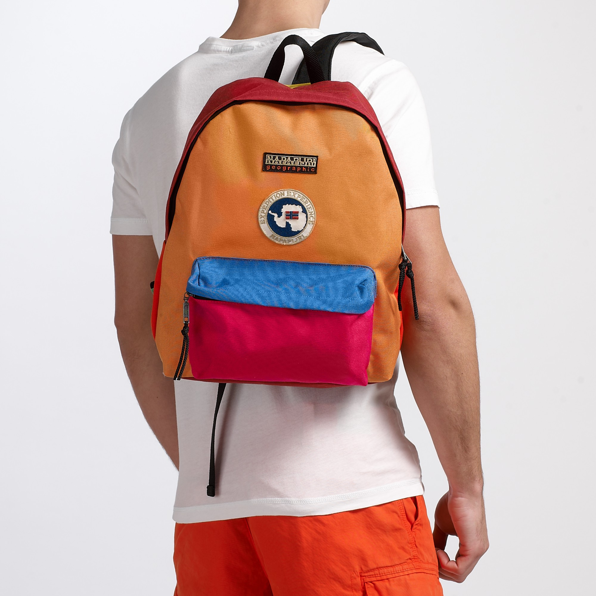 Napapijri Voyage Colour Block Backpack for Men