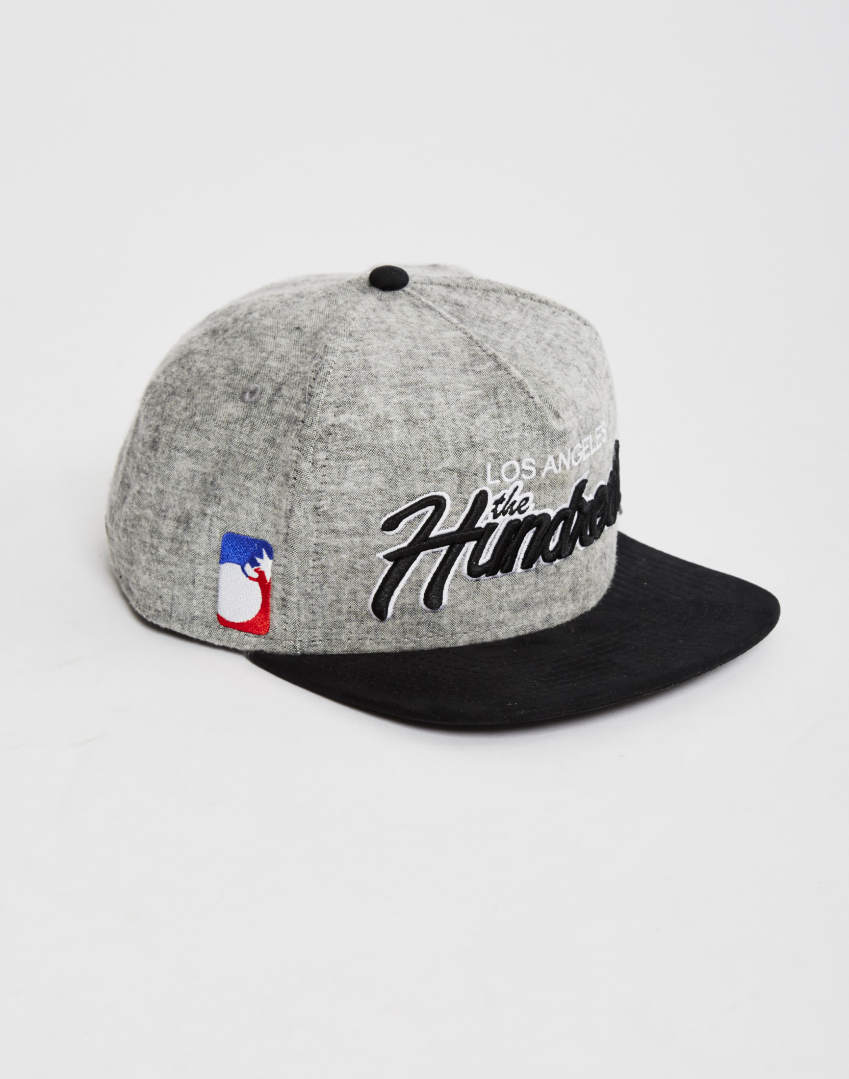 4a54bb7f1ed4d The Idle Man The Hundreds Team 2 Snapback Black in Black for Men - Lyst