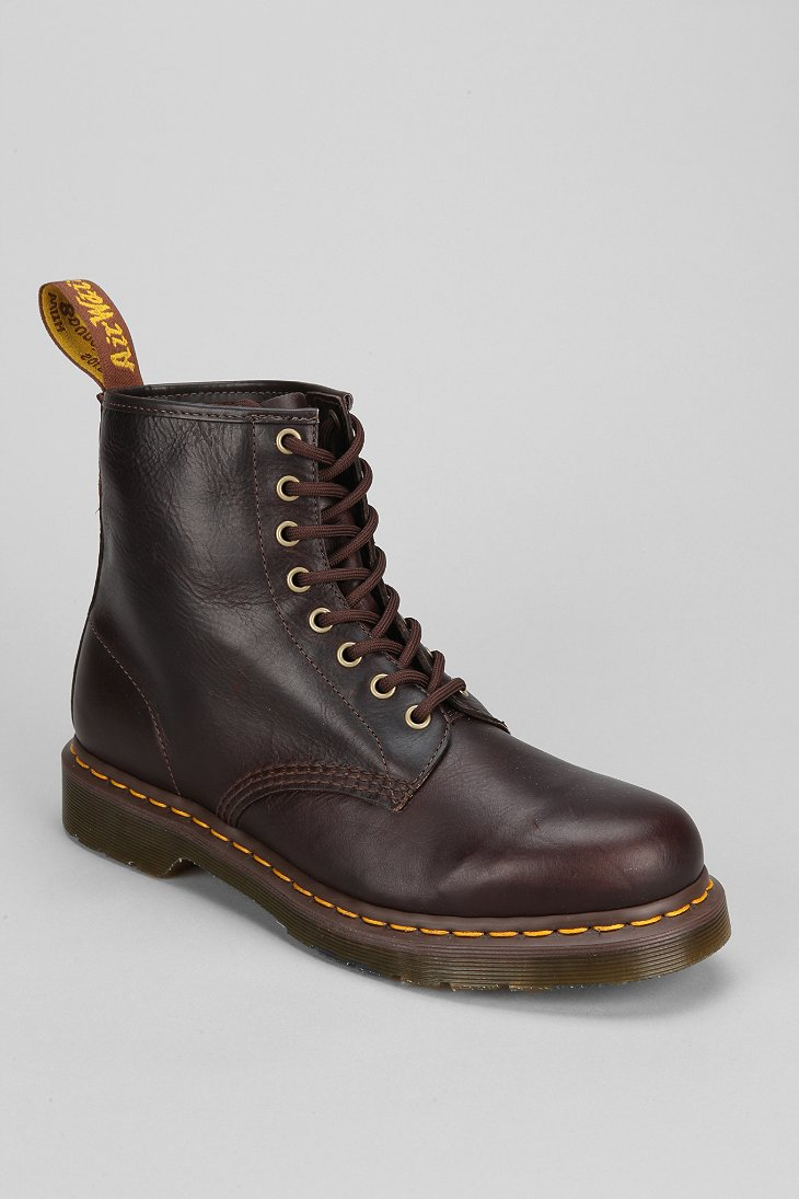 Dr Martens 1460 8-Eye Boots in Brown online sale cheap official site for sale top quality clearance latest collections O1kirm