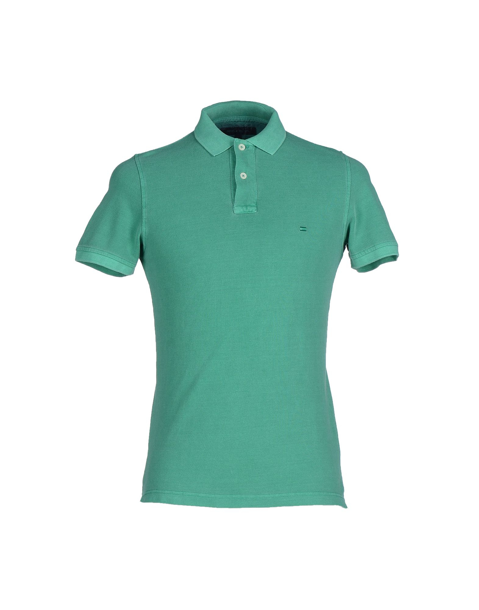 tommy hilfiger polo shirt in green for men lyst. Black Bedroom Furniture Sets. Home Design Ideas
