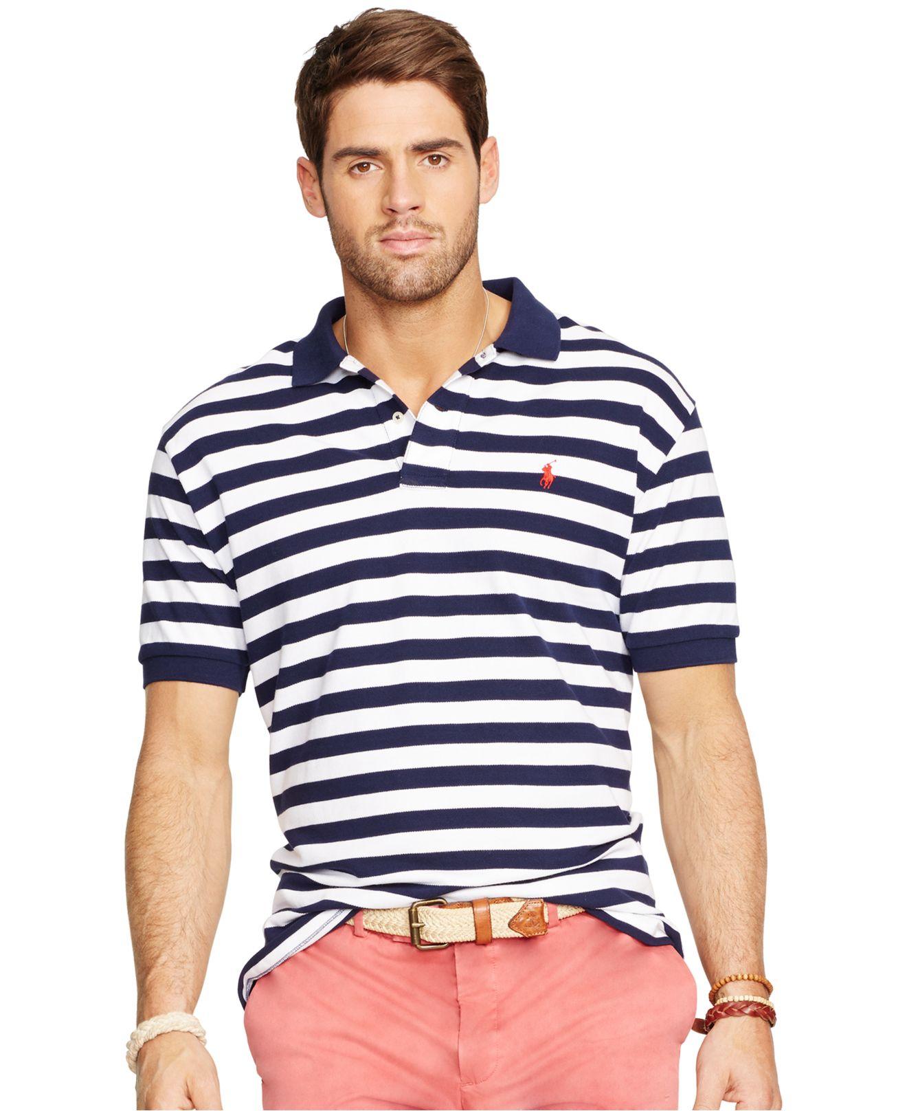 Ralph lauren purple stickup long sleeved mesh polo for Lauren ralph lauren mens dress shirts