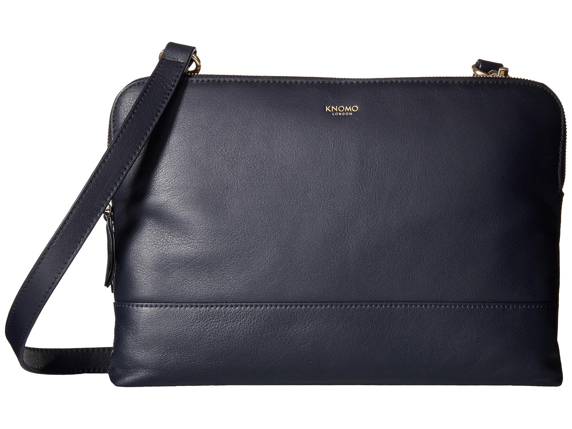 638e2e42ad Lyst - Knomo Davies Leather Crossbody Bag in Blue
