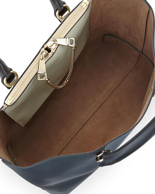knockoff chloe handbags - chloe bi-color small baylee bag, replica chloe handbags
