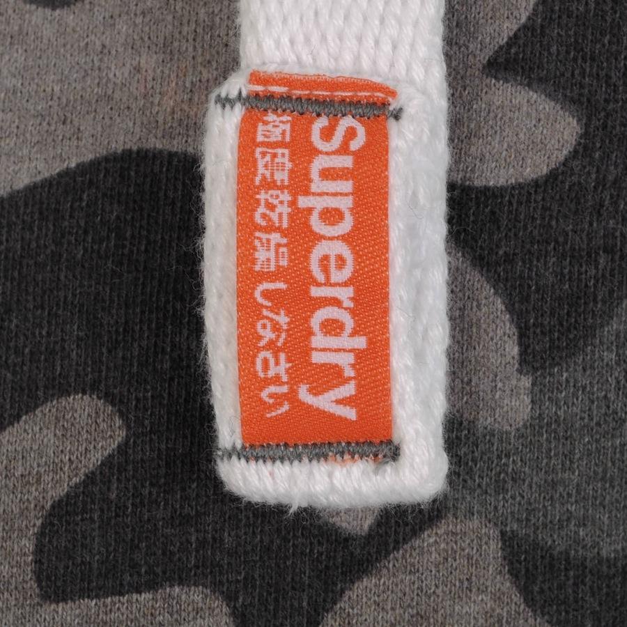 Superdry Orange Label Camo Zip Hood Jumper in Grey (Grey) for Men