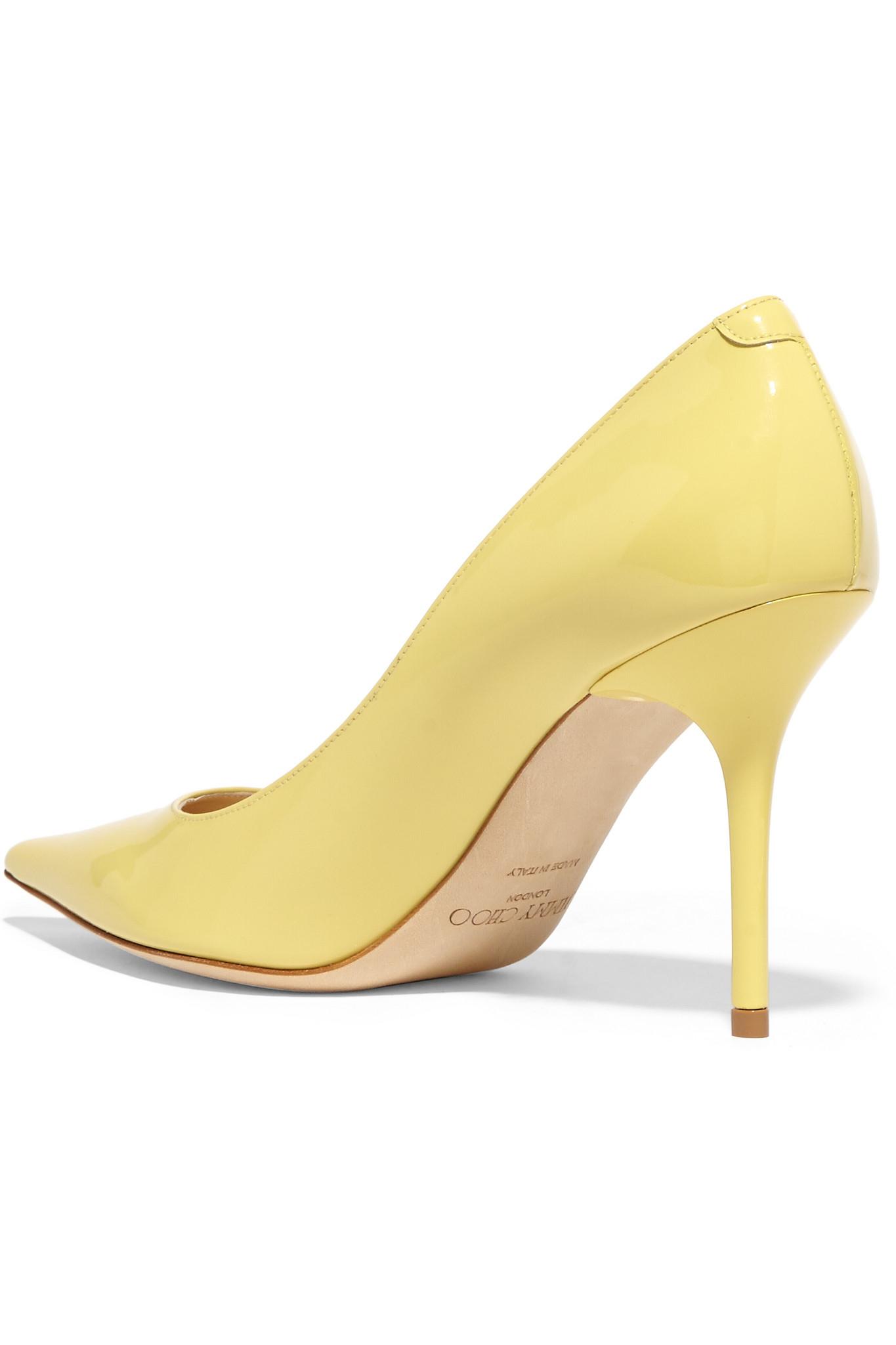 Pastel Yellow Heels