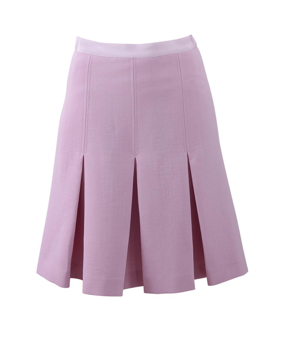 giambattista valli drop pleat skirt in pink lyst