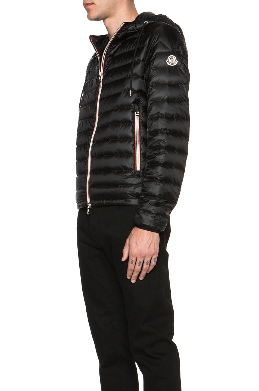 lyst moncler men s athens polyamide jacket in black rh lyst com
