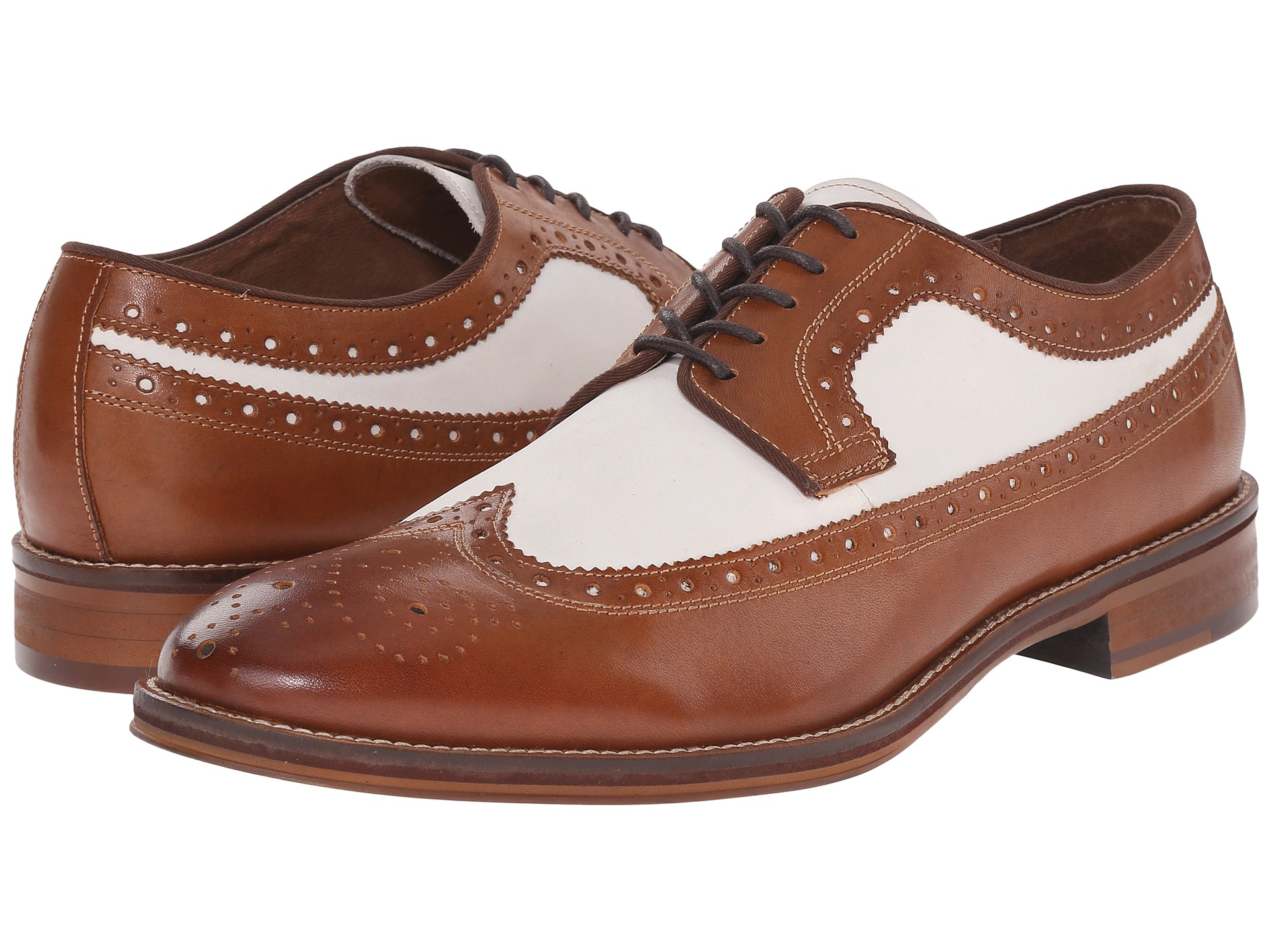 Lyst Johnston Amp Murphy Conard Wingtip In Brown For Men