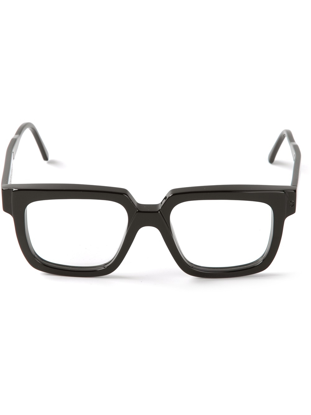 Kuboraum Square Frame Glasses in Black for Men Lyst