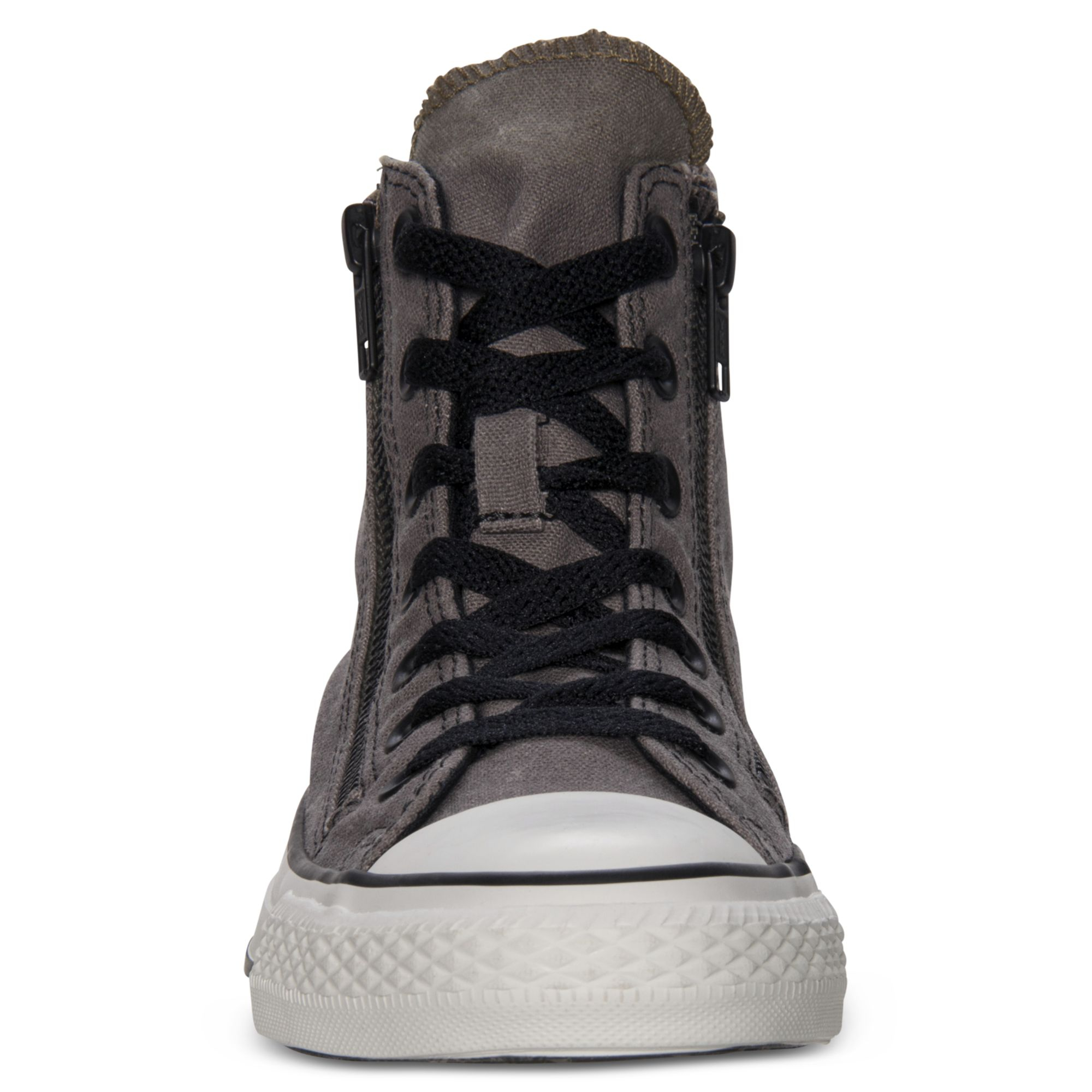 Gray Converse All For Taylor Zip Casual Sneakers Double Chuck Star Men Hi 54qjcAR3LS