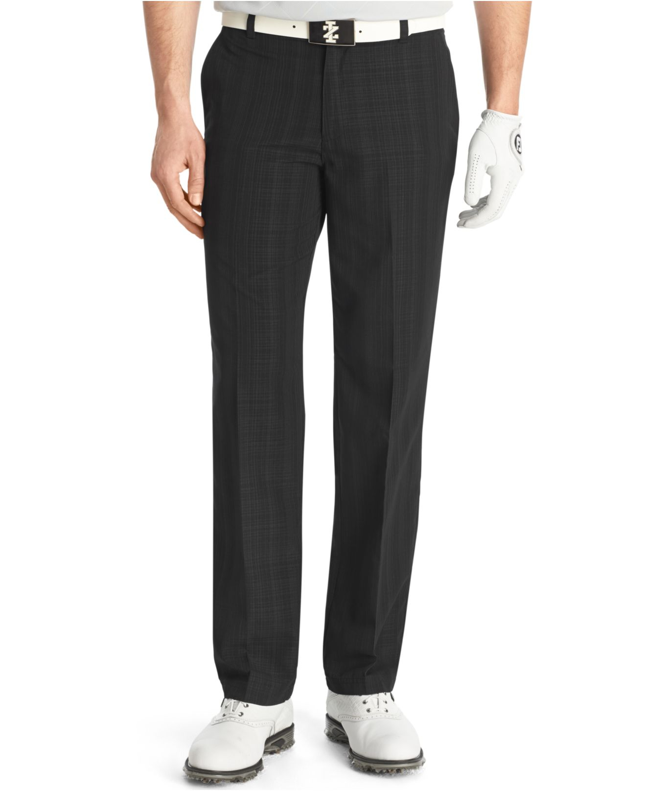 Lyst Izod Linear Flat Front Performance Golf Pants In