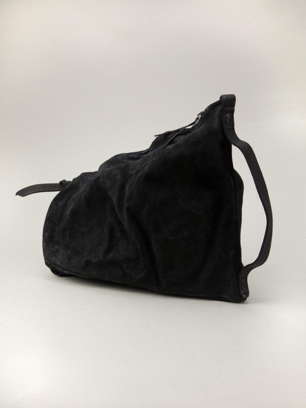 3809928e285 Boris Bidjan Saberi Textured Shoulder Bag in Black for Men - Lyst