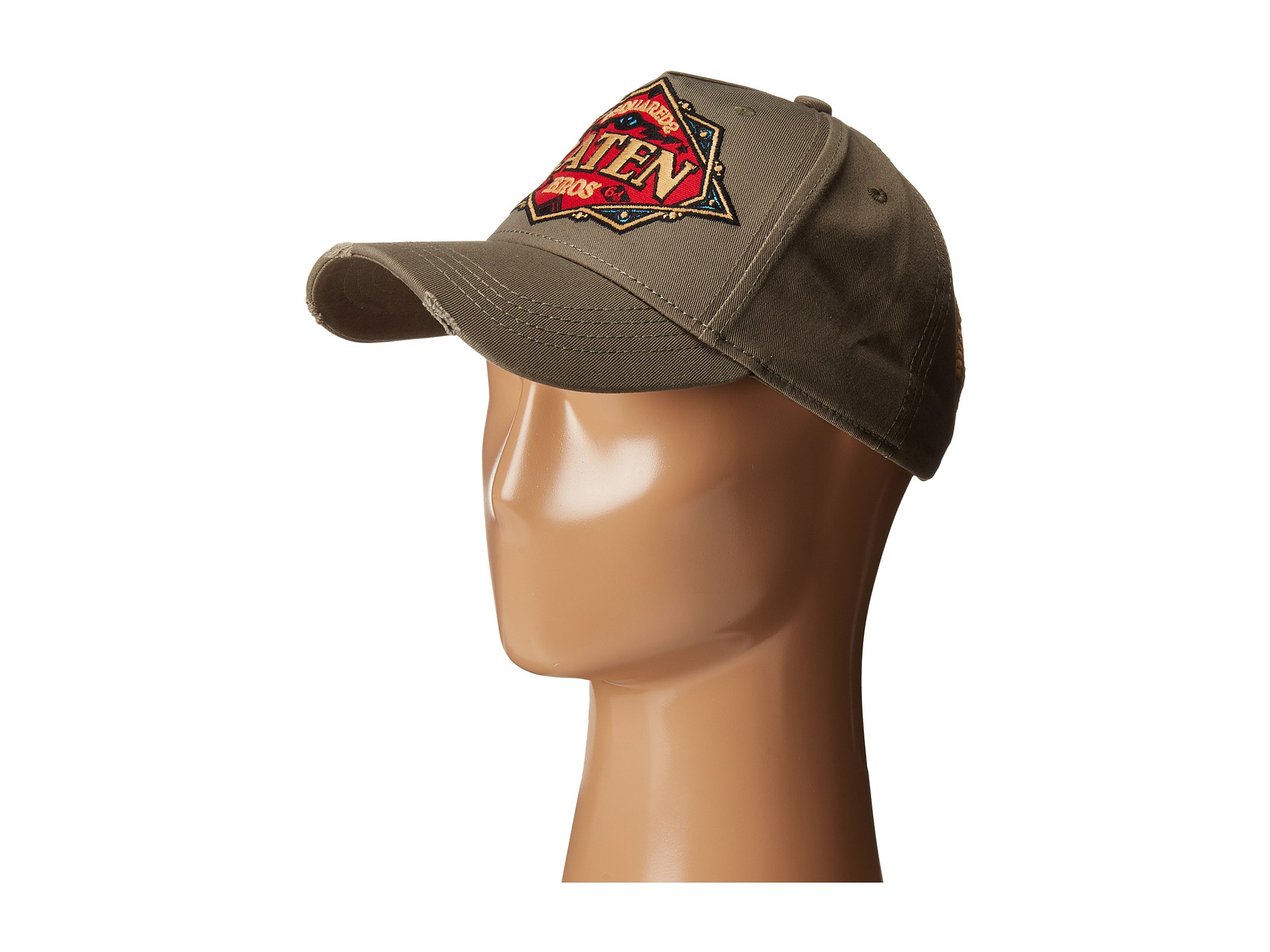 ed26cc37 DSquared² Caten Brothers Cap in Natural for Men - Lyst