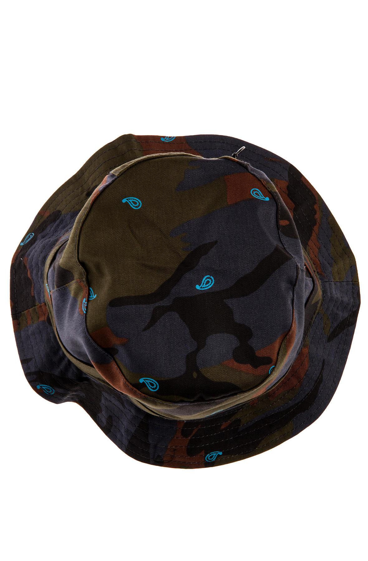 Lyst - Crooks And Castles The Killstreak Bucket Hat in Blue for Men f724ec069147