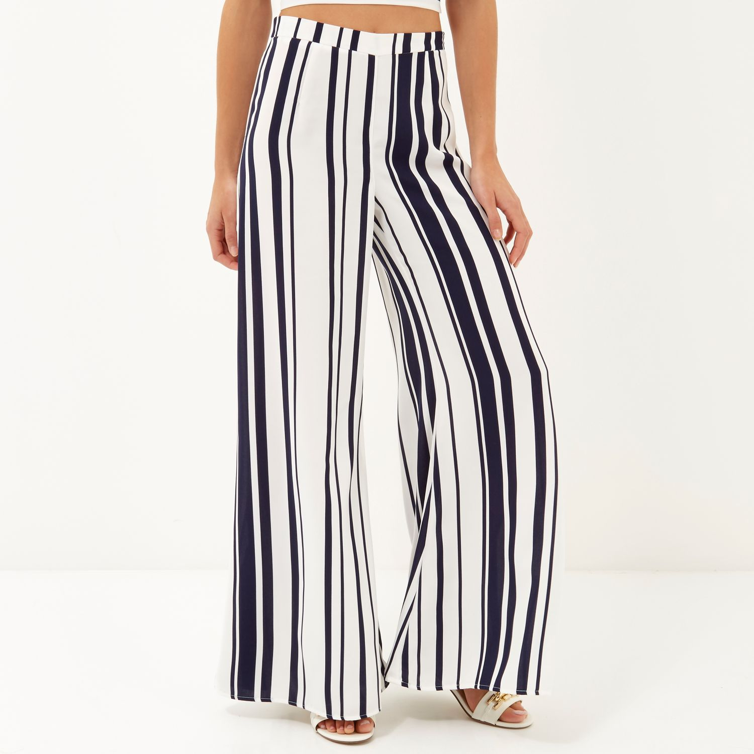 River Island Striped Culottes
