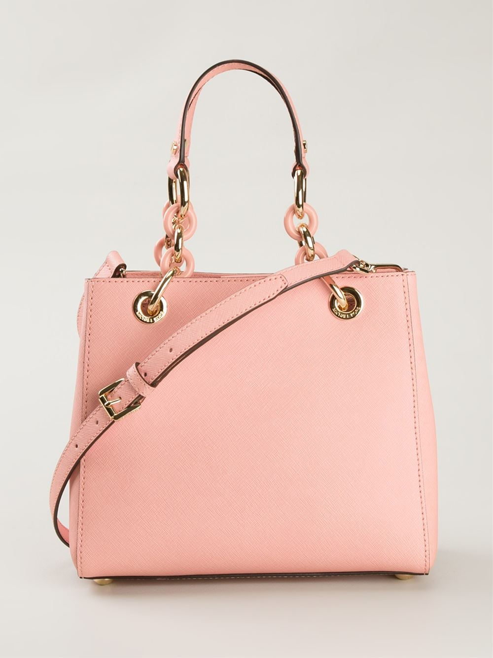 MICHAEL Michael Kors Small 'Cynthia' Tote in Pink & Purple (Pink)