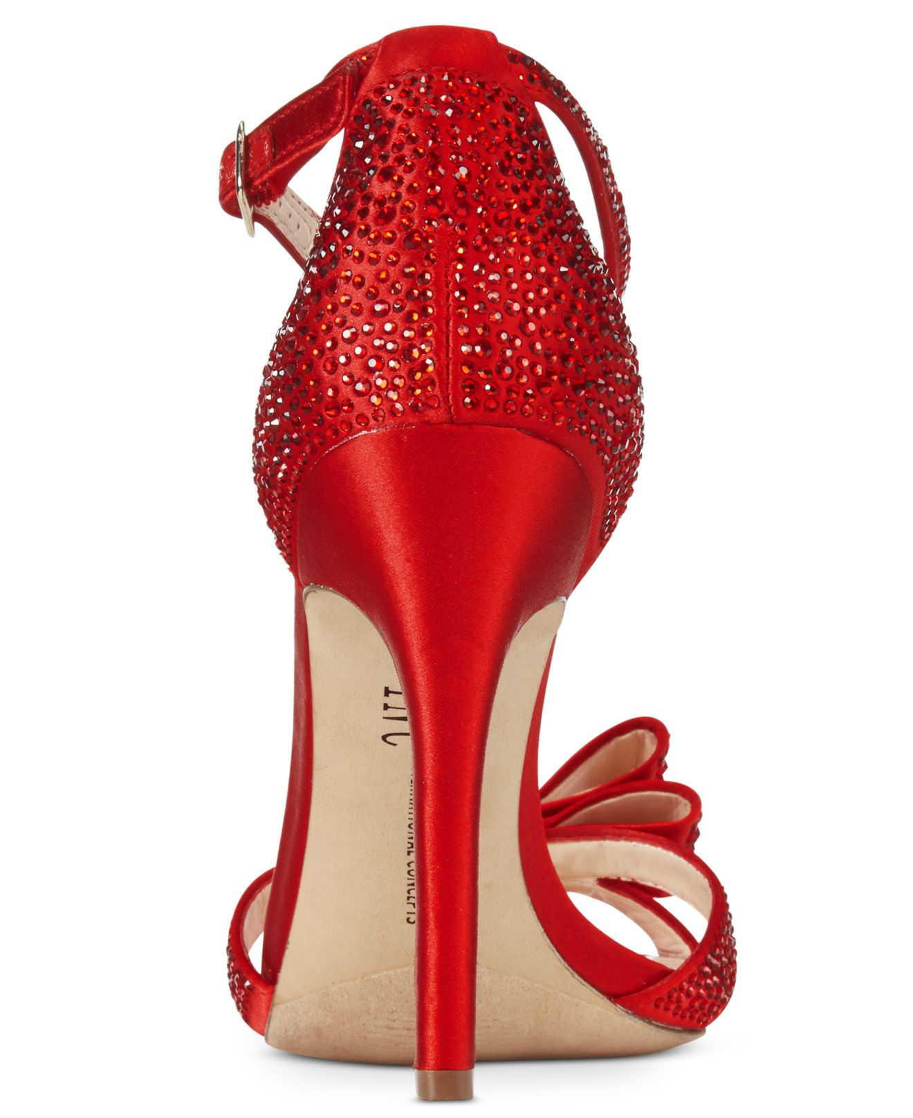 00dd48ad7a0 Lyst - INC International Concepts Reesie Evening Sandals in Red